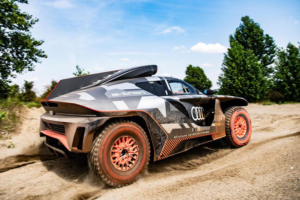 Audi RS Q e-tron Rallye Dakar 2022