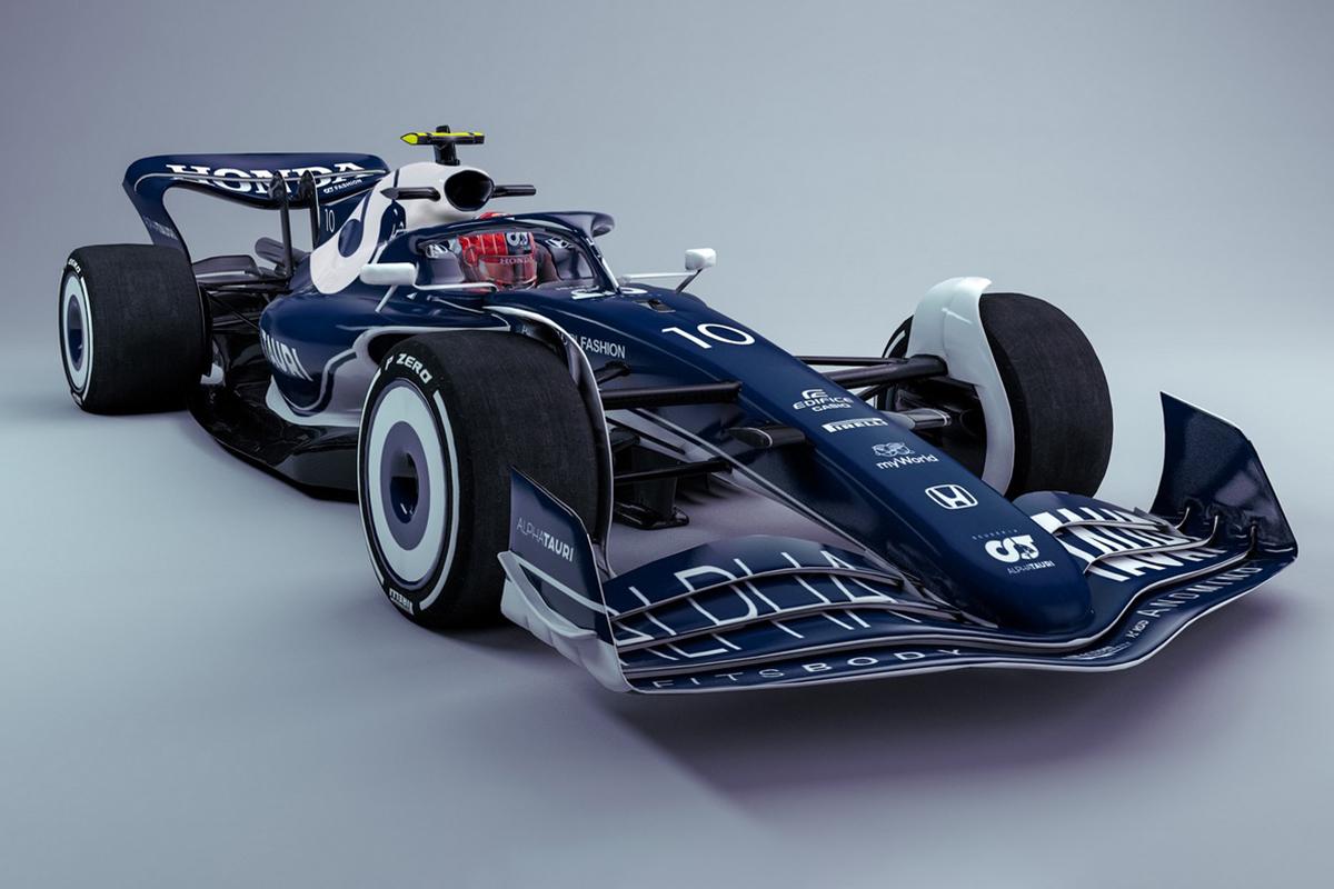 F1 2022 Alpha Tauri