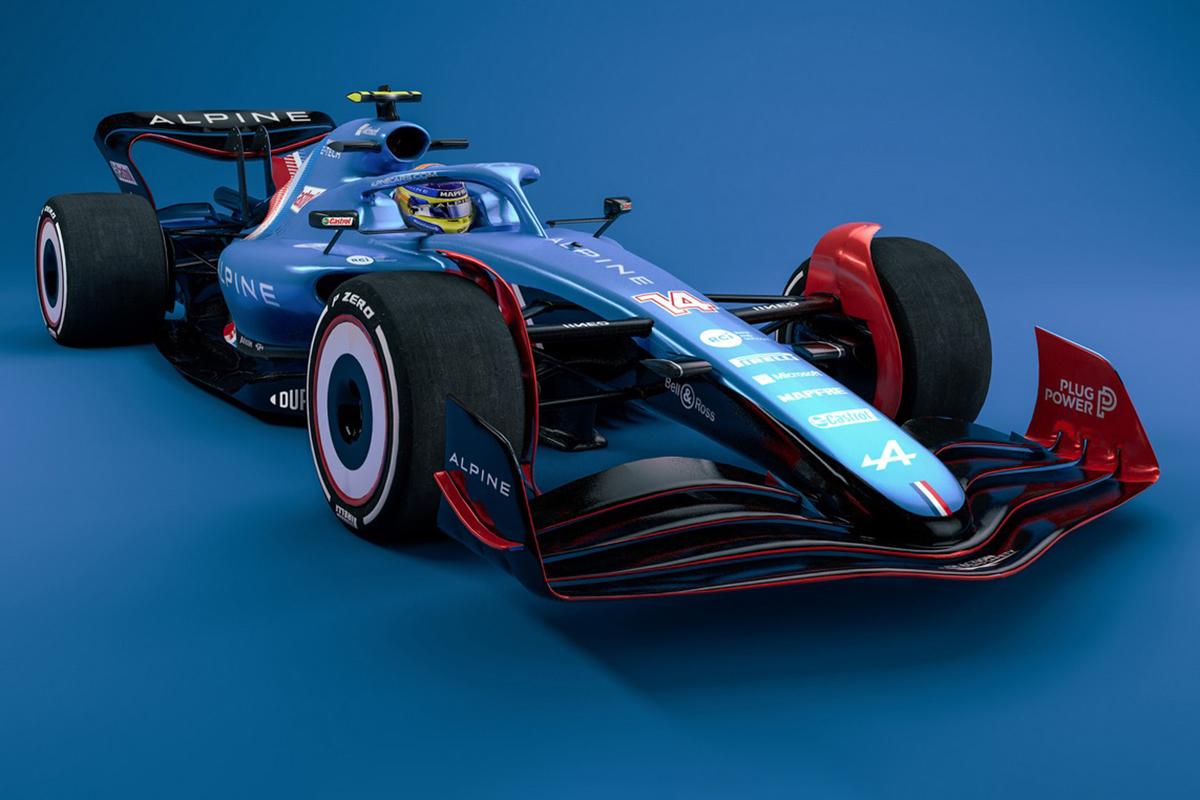 F1 2022 Alpine