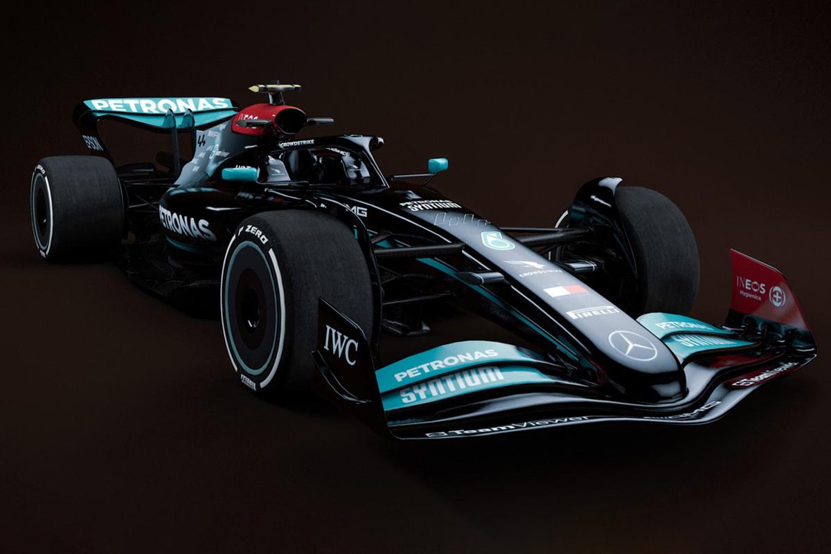 F1 2022 Mercedes