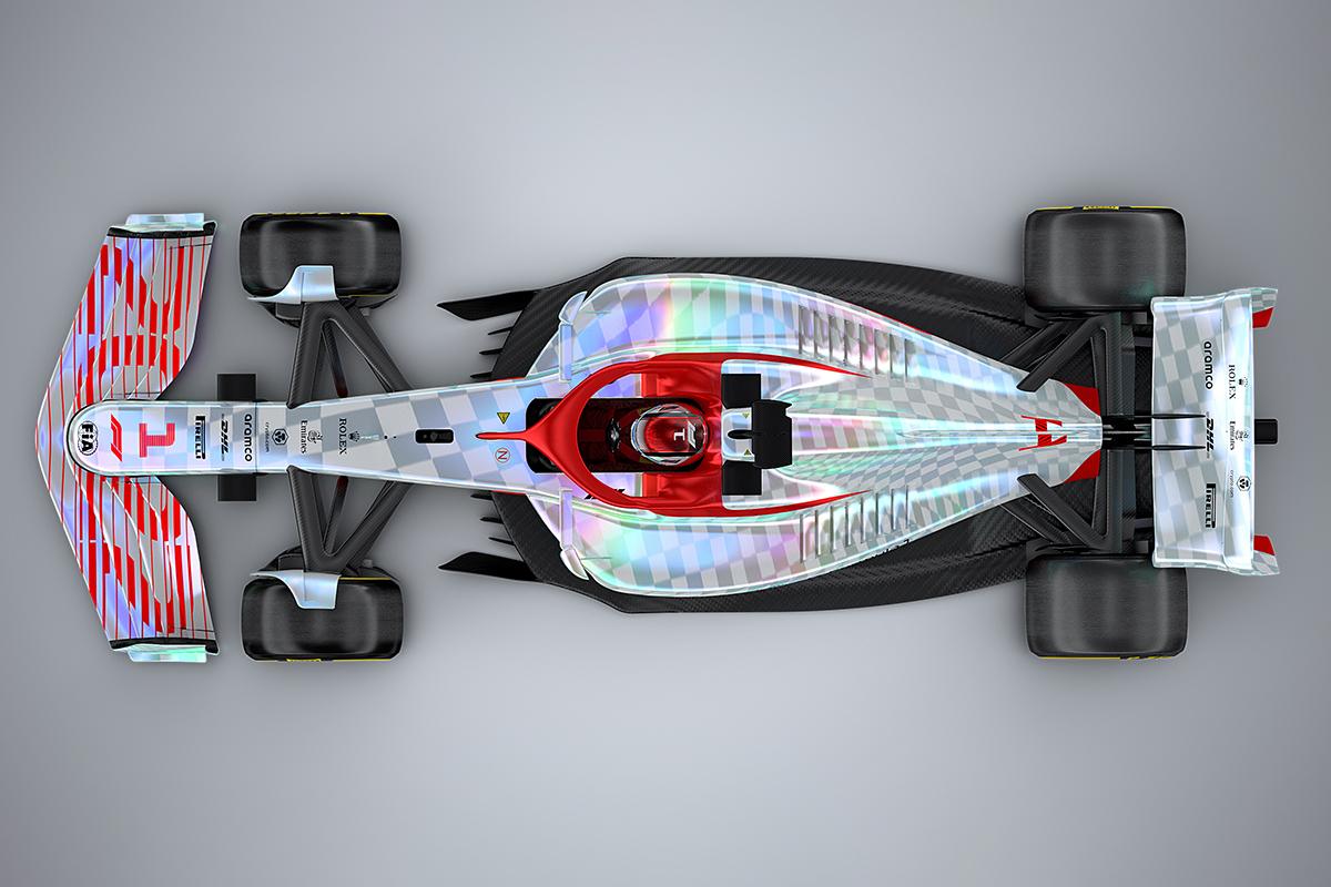 Formel 1 neues Auto ab 2022 Präsentation