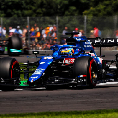 Formel 1 Fernando Alonso Alpine Silverstone Sprint 2021