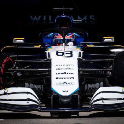 Formel 1 George Russel Williams Mercedes 2021