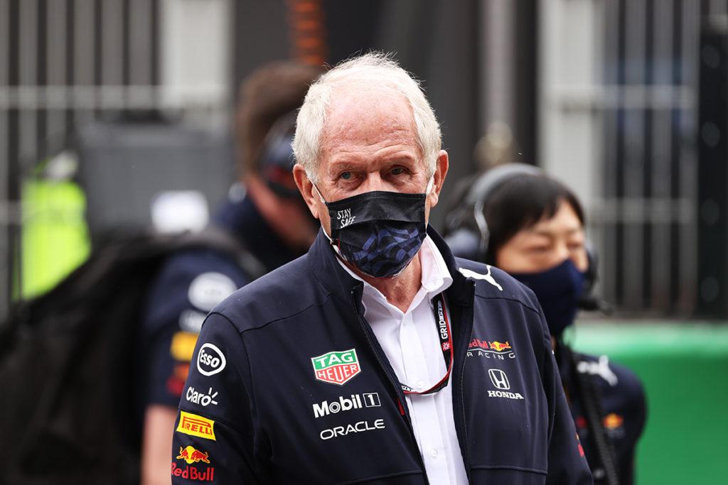 Dr. Helmut Marko Red Bull Formel 1 2021