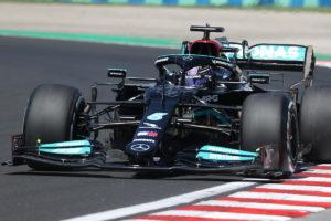 Formel 1 Lewis Hamilton Mercedes Ungarn GP 2021 FP2