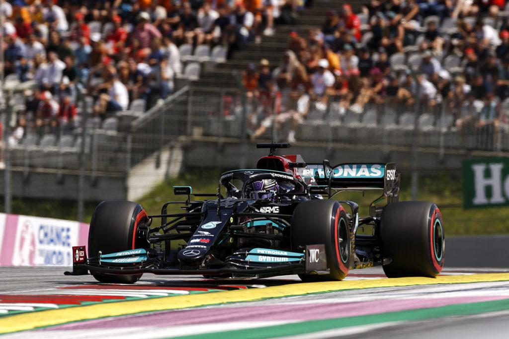 Formel 1 Lewis Hamilton Mercedes Österreich GP 2021 Rennen