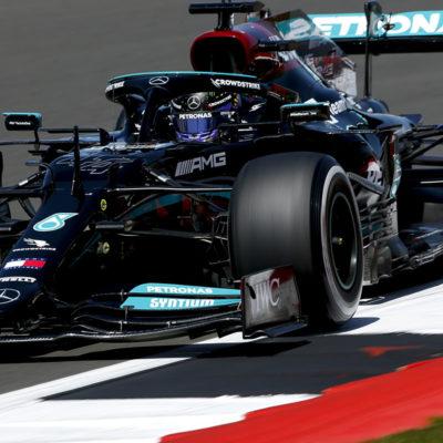 Formel 1 Lewis Hamilton Mercedes Silverstone Großbritannien GP 2021