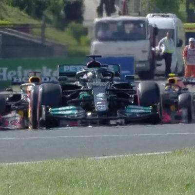 Formel 1 Lewis Hamilton Mercedes Ungarn GP 2021 Qualifying