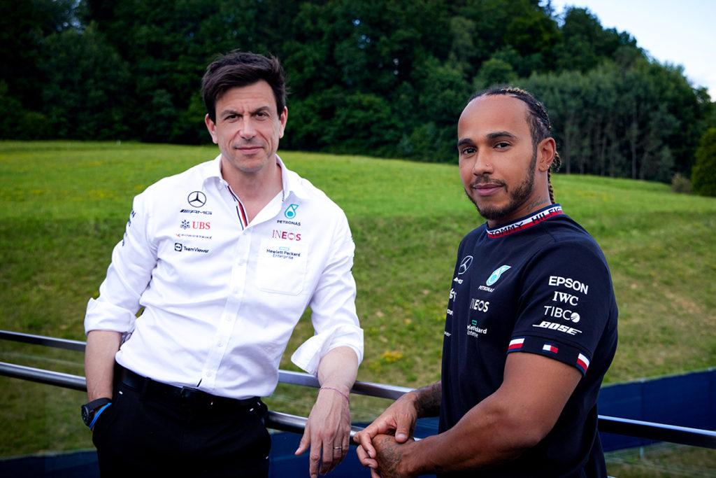 Formel 1 Lewis Hamilton Toto Wolff Mercedes 2021
