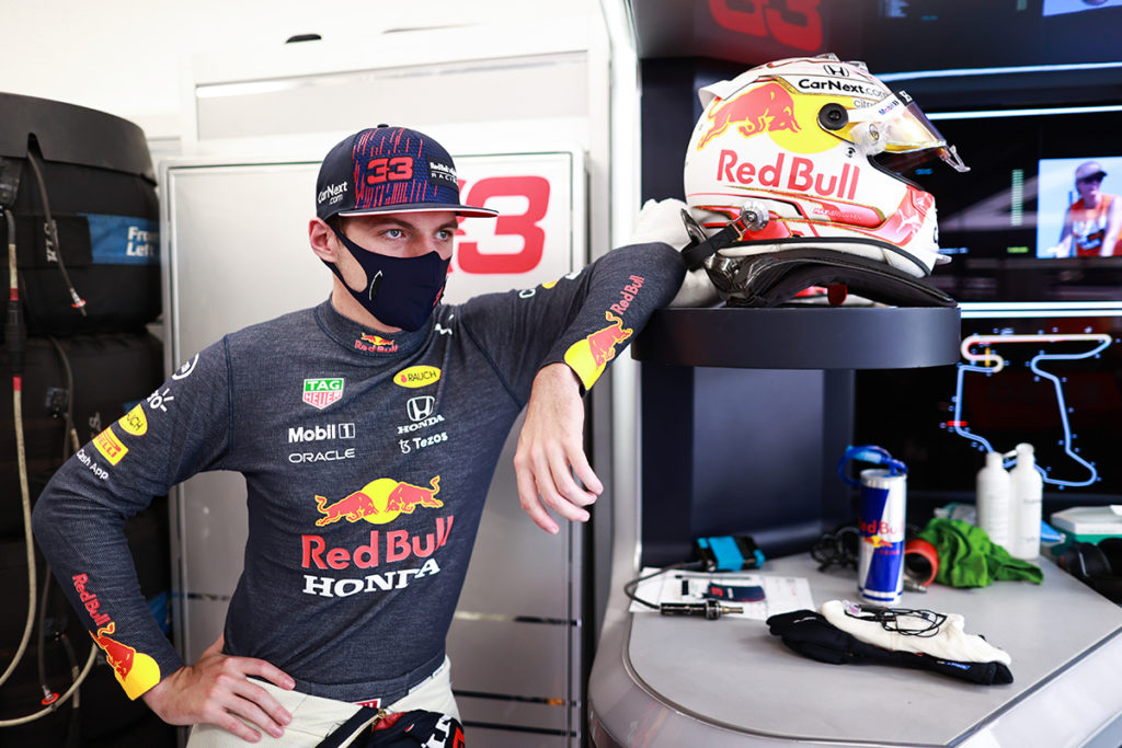 Formel 1 Max Verstappen Red Bull Ungarn GP 2021 FP2