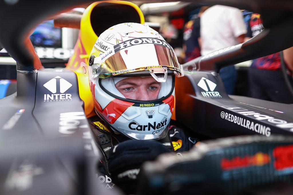 Formel 1 Max Verstappen Red Bull Ungarn GP 2021 FP1