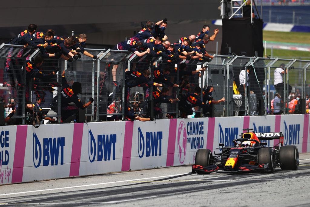 Formel 1 Max Verstappen Red Bull Österreich GP 2021 Spielberg