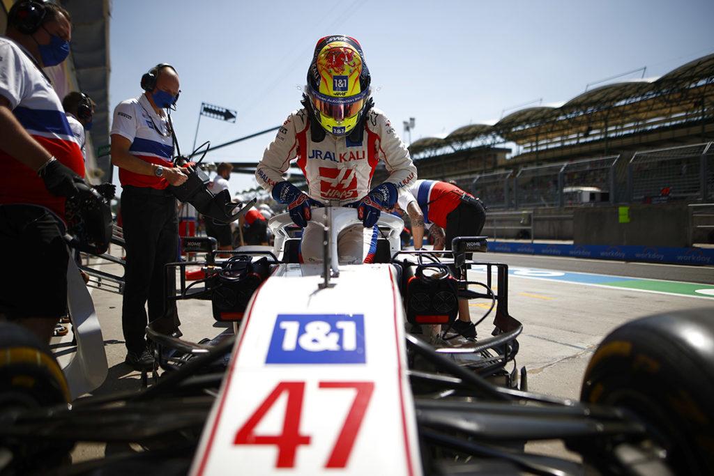 Formel 1 Mick Schumacher Haas Ungarn GP 2021 FP2
