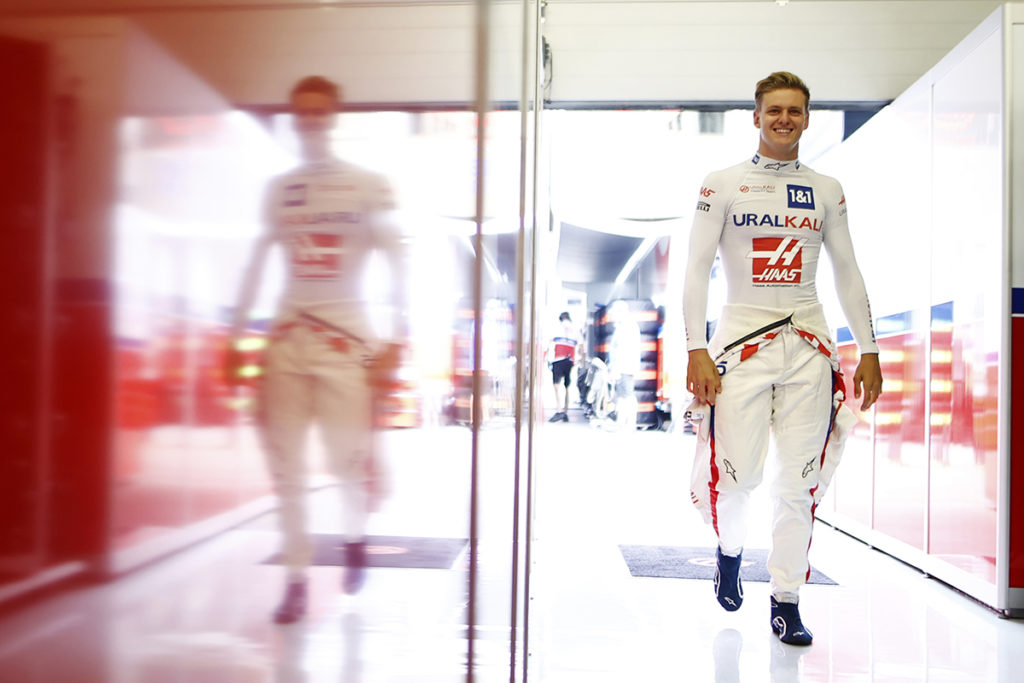 Formel 1 Mick Schumacher Haas Österreich GP 2021 Quali