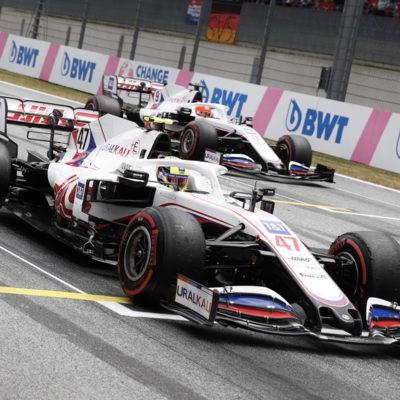 Formel 1 Mick Schumacher Haas Österreich GP 2021 Rennen 2