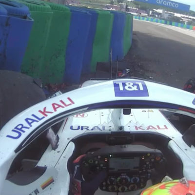 Formel 1 Mick Schumacher Ungarn GP 2021 FP3