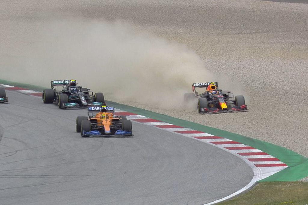 Formel 1 Perez Norris Start Österreich GP 2021