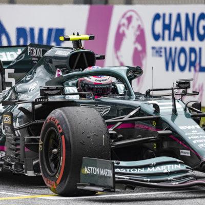 Formel 1 Sebastian Vettel Aston Martin Österreich GP 2021