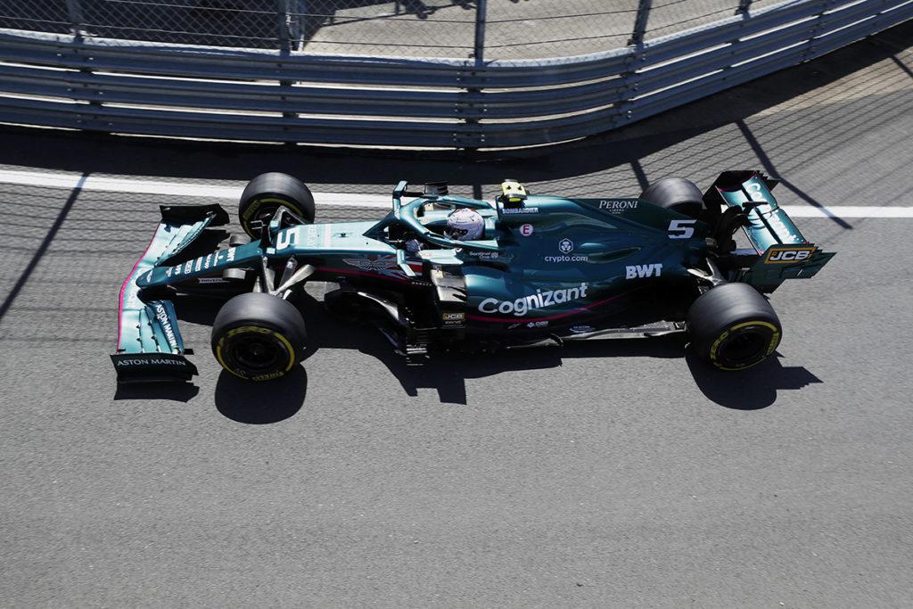 Formel 1 Sebastian Vettel Aston Martin Silverstone Sprint 2021