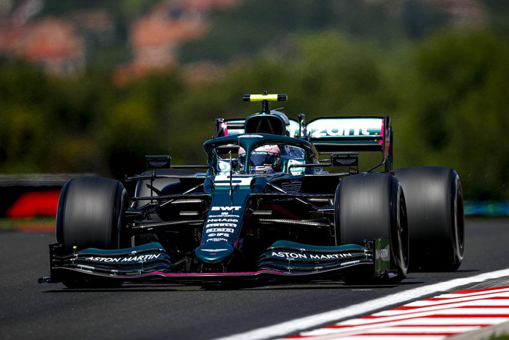 Formel 1 Sebastian Vettel Aston Martin Ungarn GP 2021 01