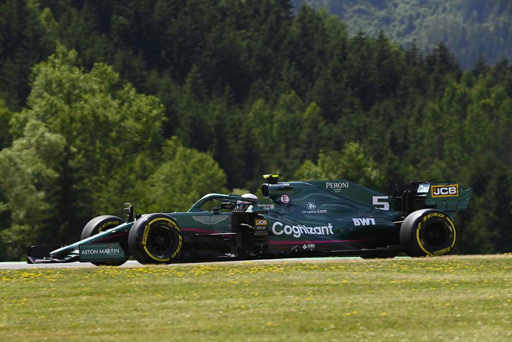 Formel 1 Sebastian Vettel Aston Martin Österreich GP 2021 Rennen