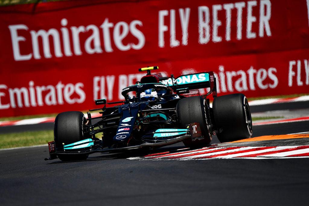 Formel 1 Valtteri Bottas Mercedes Ungarn GP 2021 01