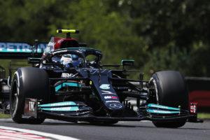 Formel 1 Valtteri Bottas Mercedes Ungarn GP 2021 FP2