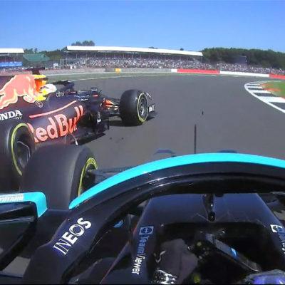 Formel 1 Max Verstappen Lewis Hamilton Silverstone Crash