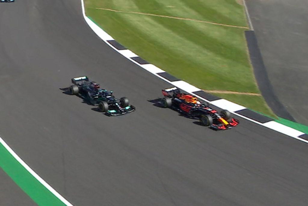 Formel 1 Verstappen Hamilton Sprint Silverstone 2021