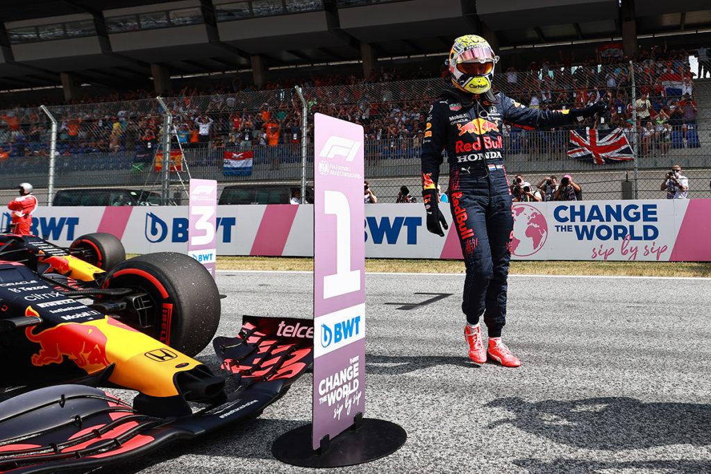 Formel 1 Max Verstappen Red Bull Österreich GP 2021 Quali