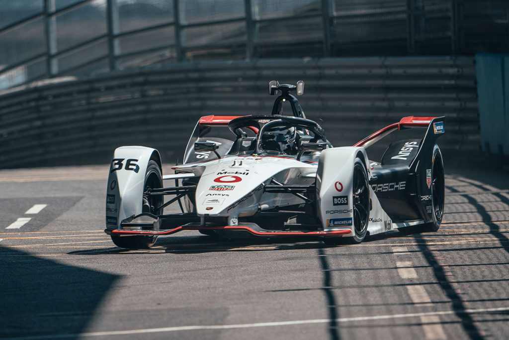 Formel E Porsche Lotterer
