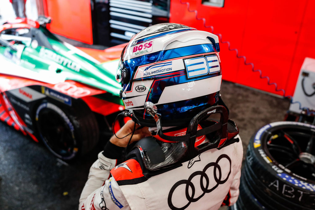 Formel E Rene Rast Audi NY ePrix