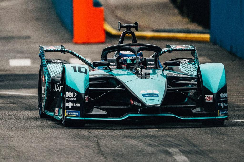 Formel E Sam Bird Jaguar 2 New York ePrix
