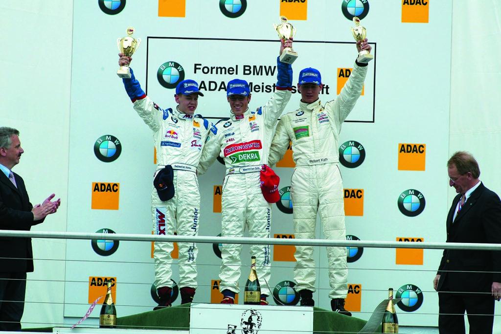 Maximilain Götz Sebastian Vettel Formel BMW 2003