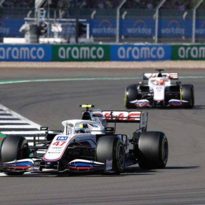 Schumacher, Mazepin, Haas, Sprint, Silverstone