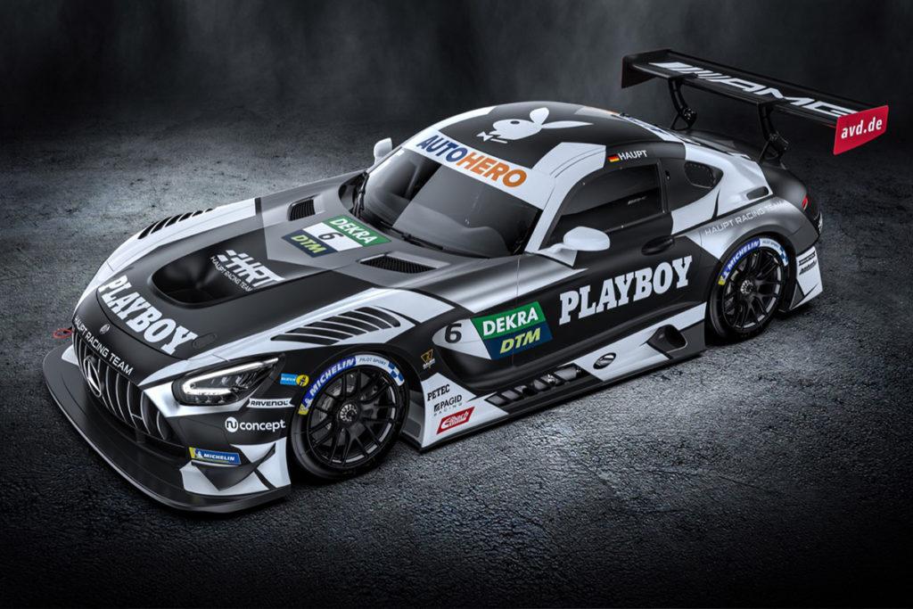 Hubert Haupt DTM Lausitzring Auto 2021 Playboy