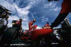 Michael Schumacher 1996 Ferrari Formel 1