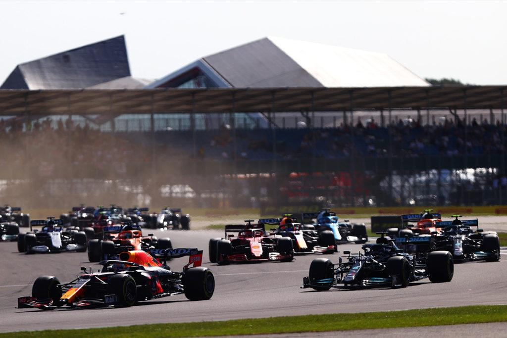 Formel 1 Start Sprint Silverstone 2021