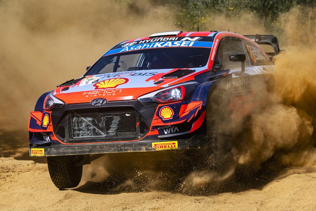 Ott Tanak WRC Hyundai