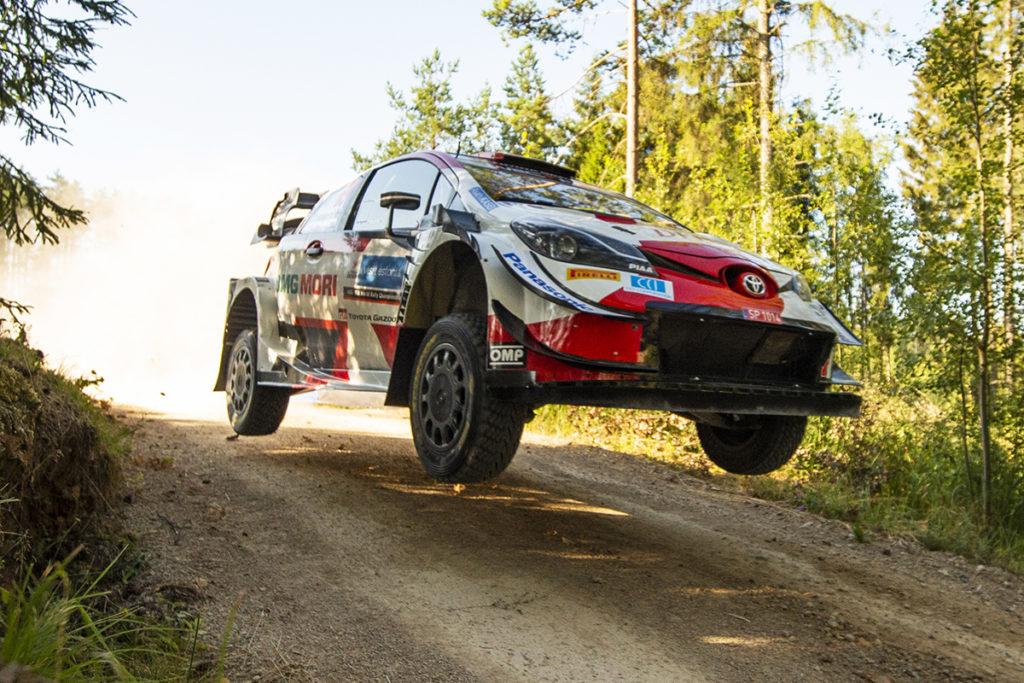 WRC Kalle Rovanperä Toyota Estland Rallye 2021