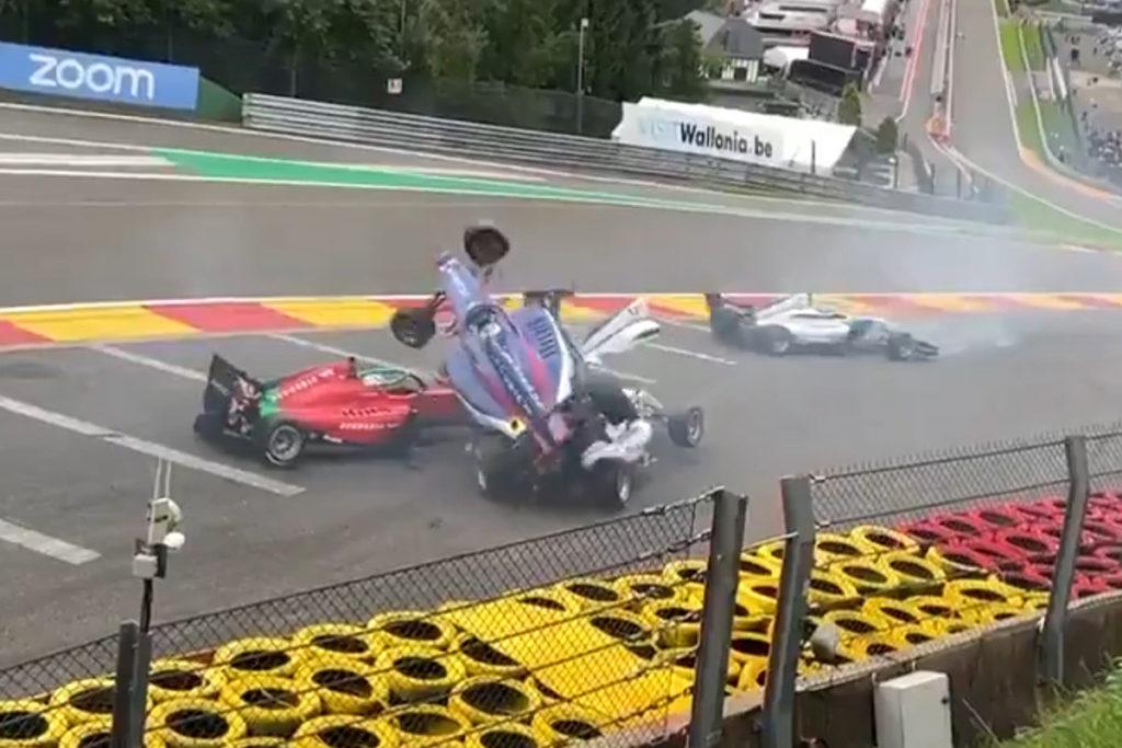 Crash Spa W-Series 2021