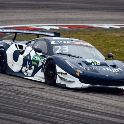 DTM Alex Albon Nürburgring 2021 Rennen 2