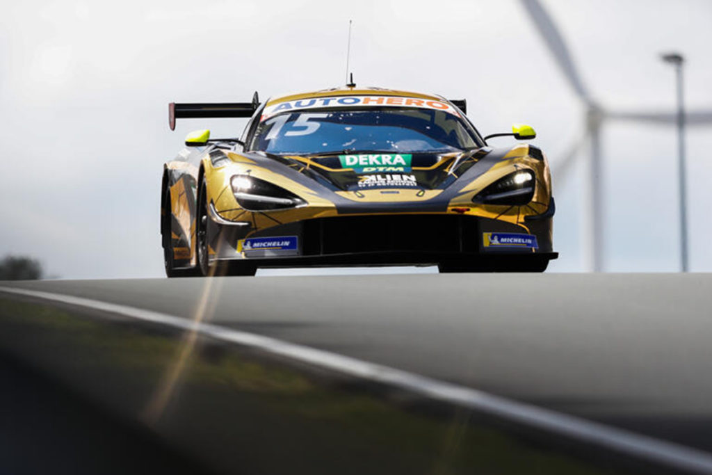 DTM Christian Klien McLaren Zolder 2021