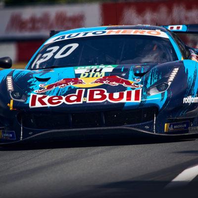 DTM Liam Lawson Red Bull Ferrari 2021