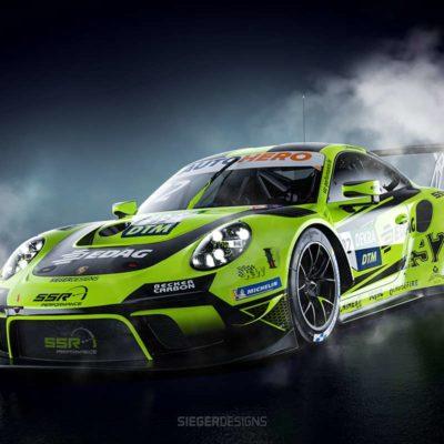Porsche, SSR Performance DTM Porsche 2021