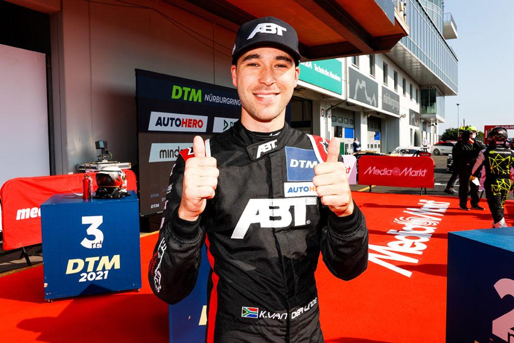 DTM Kelvin van der Linde Nürburgring 2021