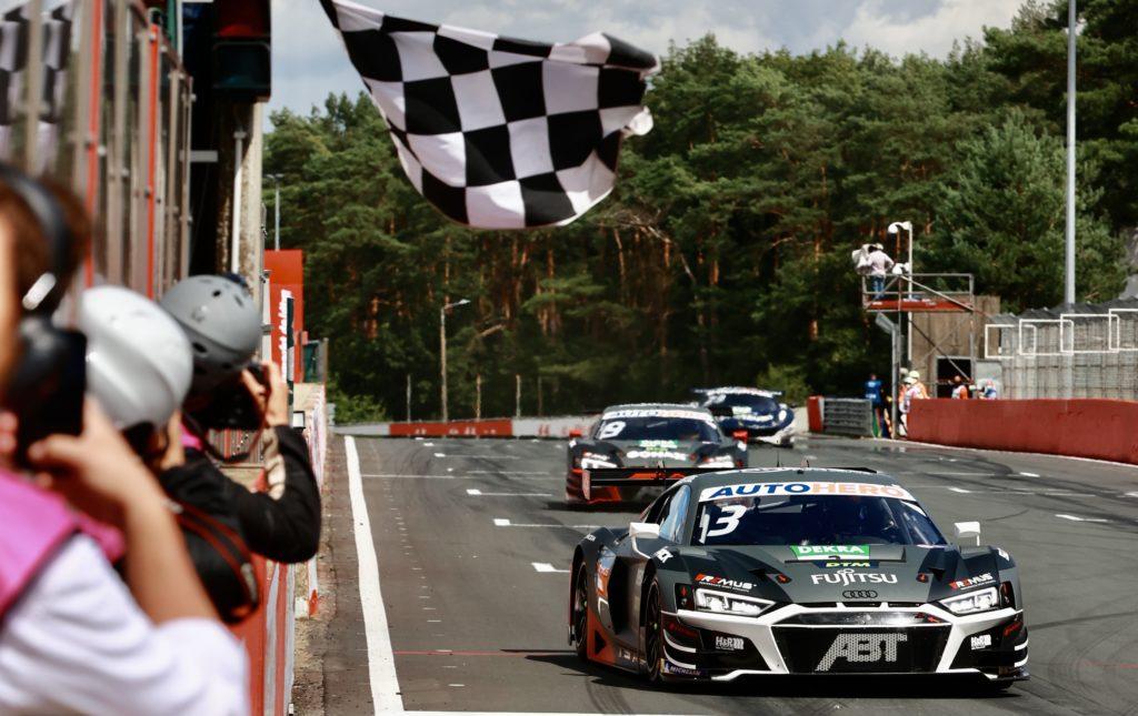 DTM Zolder 2021 Van der Linde Audi Abt