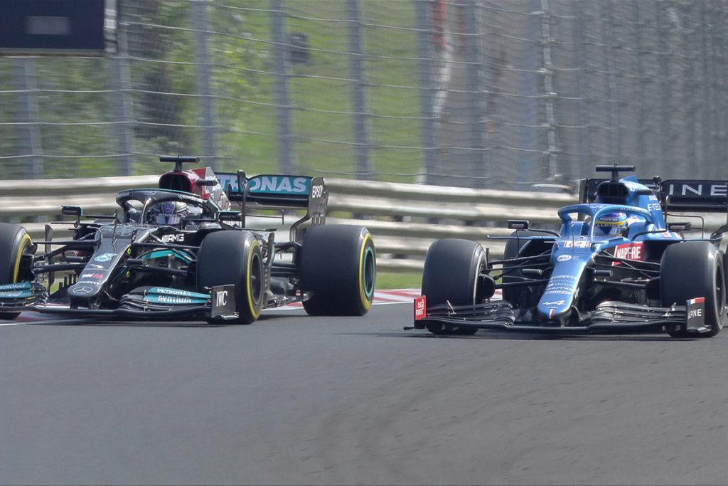 Formel 1 Alonso Hamilton Ungarn GP 2021