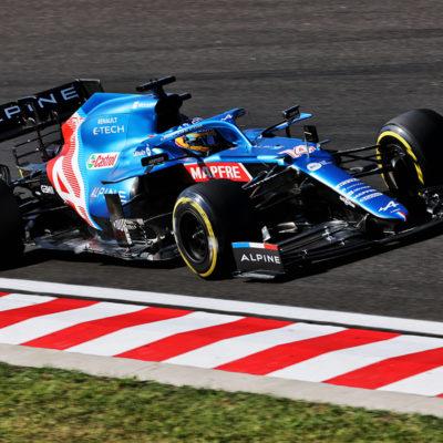 Formel 1 Fernando Alonso Ungarn GP 2021
