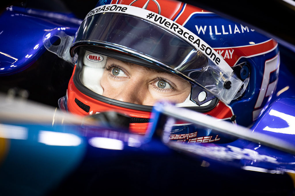 Formel 1 George Russell Williams 2021